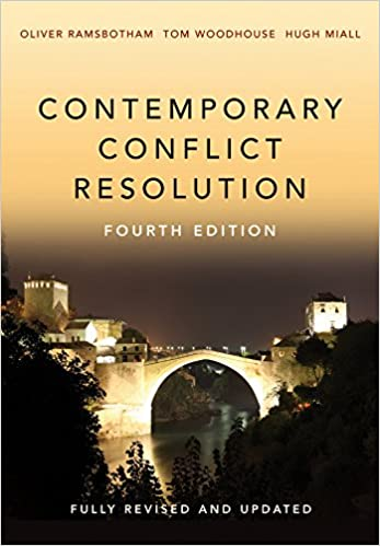 Contemporary Conflict Resolution (4th Edition) - Image pdf with ocr