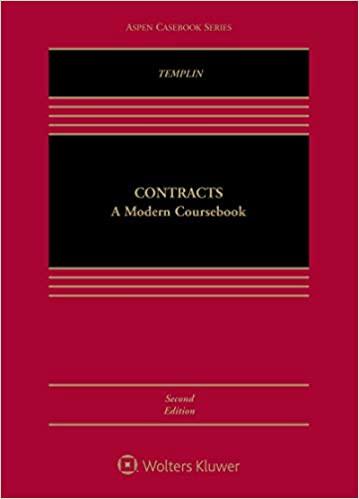 Contracts:  A Modern Coursebook (2nd Edition) [2019] - Epub + Converted Pdf