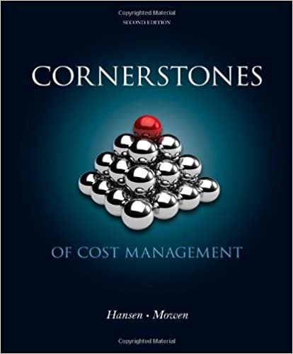 Cornerstones of Cost Management (2nd Edition) - Orginal Pdf
