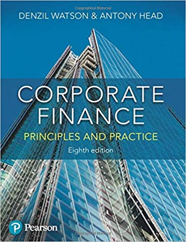 Corporate Finance: Principles and Practice (8th Edition) [2019] - Original PDF