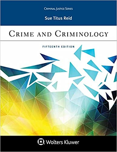 Crime and Criminology (Aspen Criminal Justice) (15th Edition) - Epub + Converted pdf