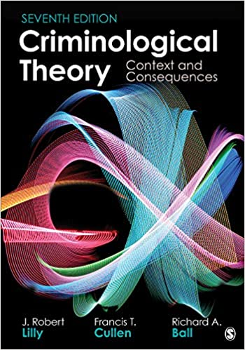 Criminological Theory: Context and Consequences (7th Edition) - Converted Pdf