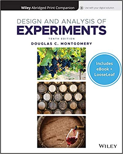 Design and analysis of experiments (10th edition) - Epub