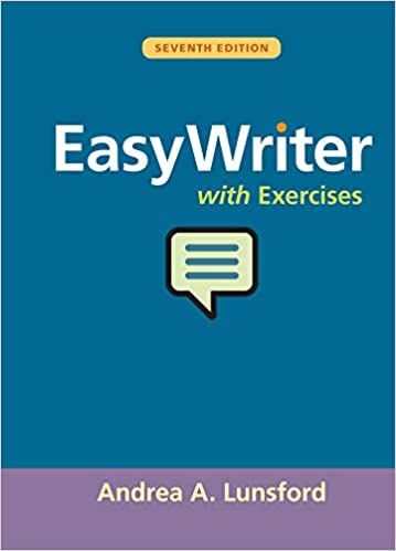 EasyWriter with Exercises (7th Edition) BY Lunsford - Epub + Converted pdf