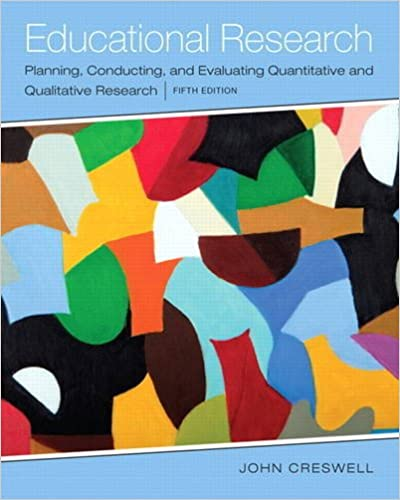 Educational Research: Planning, Conducting, and Evaluating Quantitative and Qualitative Research (5th Edition) - Original PDF