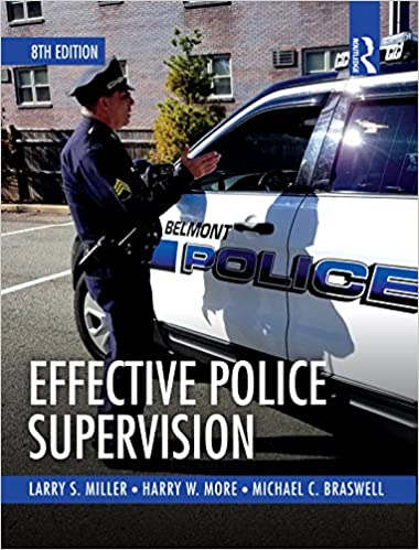 Effective Police Supervision (8th Edition) - Original PDF