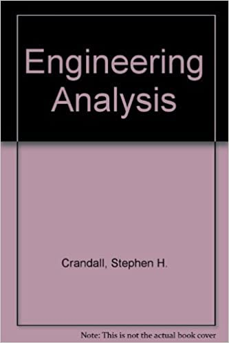 Engineering analysis a survey of numerical procedures BY Crandall - Scanned pdf