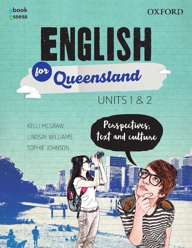 English for Queensland Units 1&2 Student book + obook assess - Orginal pdf