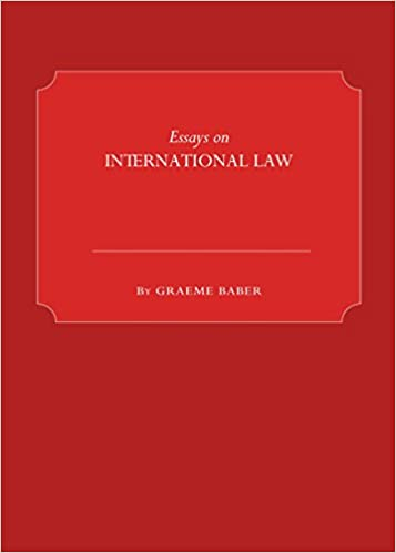 Essays on International Law (9781443843782) - Original PDF