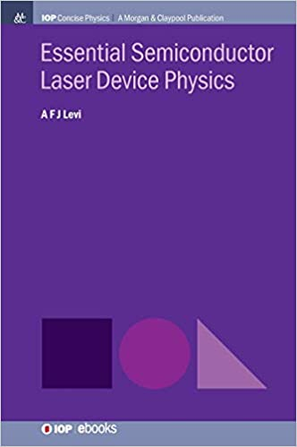 Essential Semiconductor Laser Physics (Iop Concise Physics) - Original PDF