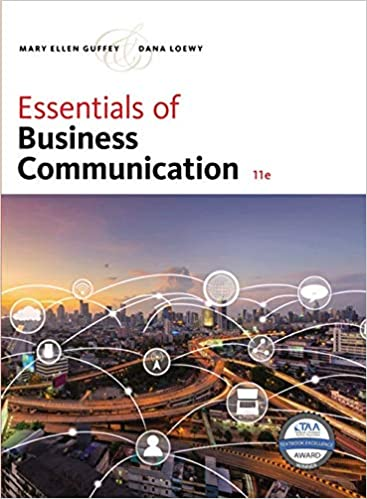 Essentials of Business Communication (11th Edition) - Original PDF