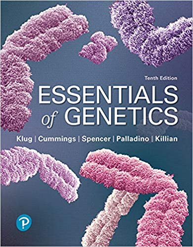 Essentials of Genetics (10th Edition) pdf