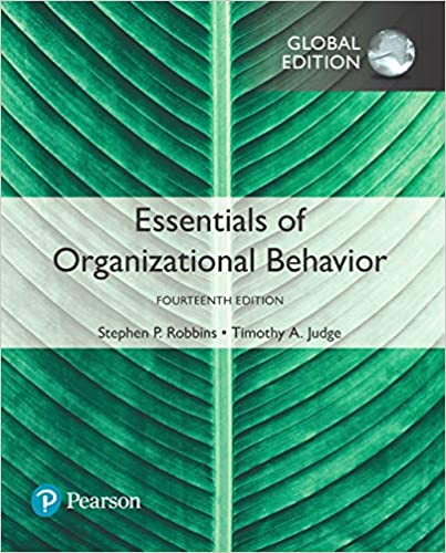 Essentials of Organizational Behavior, Global Edition (14th Edition) - Orginal Pdf