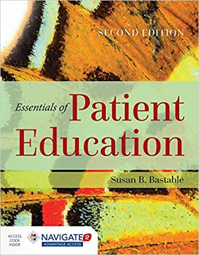 Essentials of Patient Education (2nd Edition) - Orginal Pdf