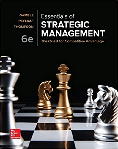 Essentials of Strategic Management:  The Quest for Competitive Advantage (6th Edition) - Original PDF