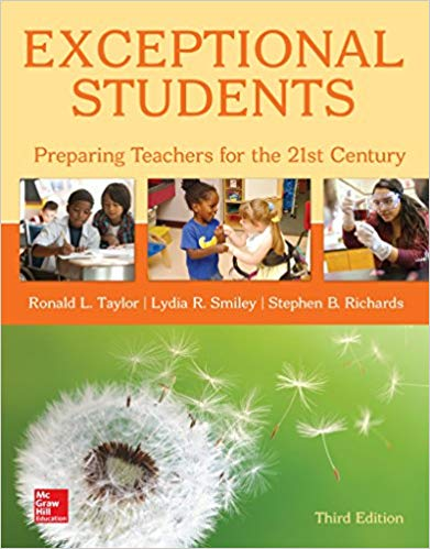 Exceptional Students: Preparing Teachers for the 21st Century (3rd Edition)