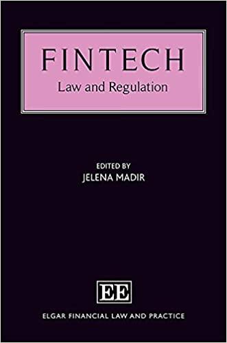 FinTech: Law and Regulation - Orginal Pdf