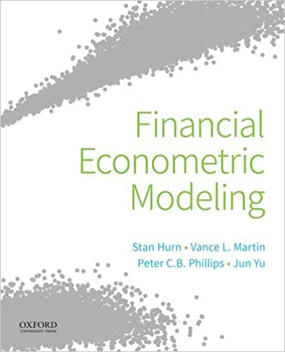 Financial Econometric Modeling [2020] - Epub + Converted Pdf