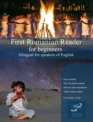 First Romanian Reader for beginners: bilingual for speakers of English (Graded Romanian Readers Book 1)  - Epub + Converted pdf