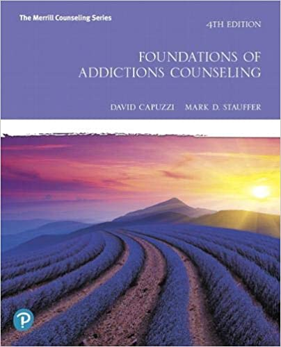 Foundations of Addictions Counseling (4th Edition) [2020] - Epub + Converted Pdf