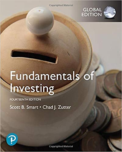 Fundamentals of Investing, Global Edition (14th Edition) [2019] - Original PDF