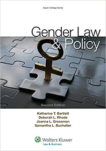 Gender Law and Policy (2nd Edition ) - Epub + Converted pdf