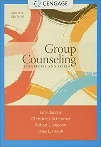 Group Counseling: Strategies and Skills (8th Edition) - Orginal Pdf