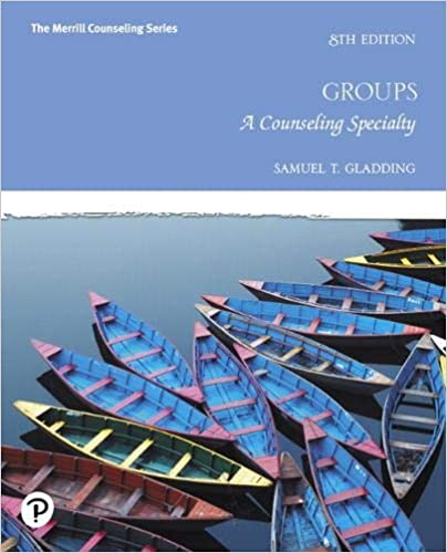 Groups: A Counseling Specialty (8th Edition) [2019] - Original PDF