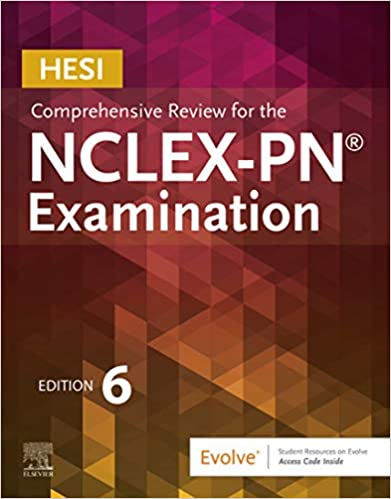 HESI Comprehensive Review for the NCLEX-PN® Examination (6th Edition) - Epub + Converted pdf