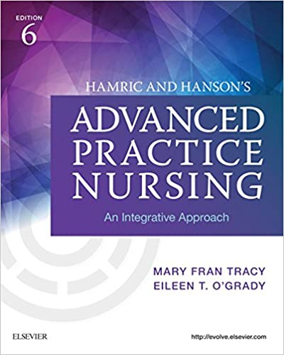 Hamric and Hanson's Advanced Practice Nursing: An Integrative Approach (6th Edition) - Epub + Converted pdf