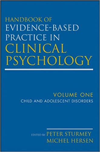Handbook of Evidence-Based Practice in Clinical Psychology, Child and Adolescent Disorders - Original PDF
