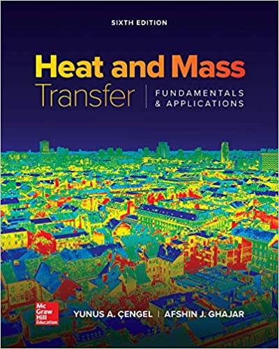 Heat and Mass Transfer: Fundamentals and Applications (6th Edition) - Original PDF