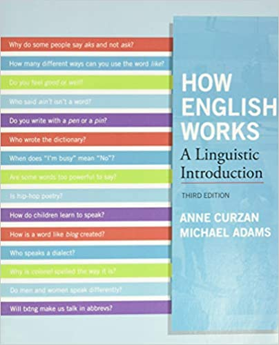 How English Works: A Linguistic Introduction 3rd Edition - Orginal Pdf