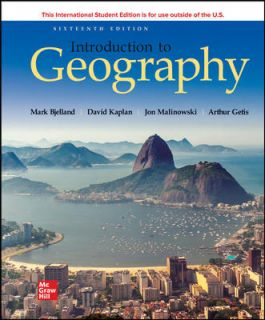 ISE EBook Online Access for Introduction to Geography (16th Edition) - Converted Pdf
