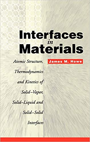Interfaces in Materials: Atomic Structure, Thermodynamics and Kinetics of Solid-Vapor, Solid-Liquid and Solid-Solid Interfaces - Pdf