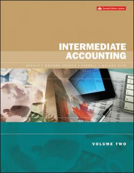 [Soultion Manual] Intermediate Accounting Volume 2 Updated Edition (7th Edition) - Word