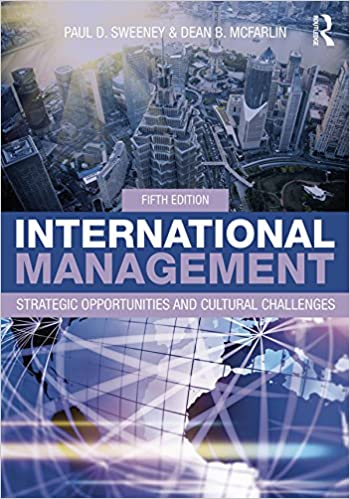 International Management: Strategic Opportunities and Cultural Challenges (5th Edition) - Original PDF
