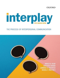 Interplay The Process of Interpersonal Communication (5th Canadian Edition), Enhanced - Epub + Converted pdf