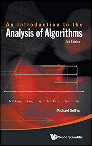 Introduction Analysis Of Algorithms (3rd Edition) - Original PDF