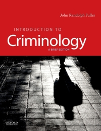Introduction to Criminology: A Brief Edition Brief Edition - Epub + Converted pdf