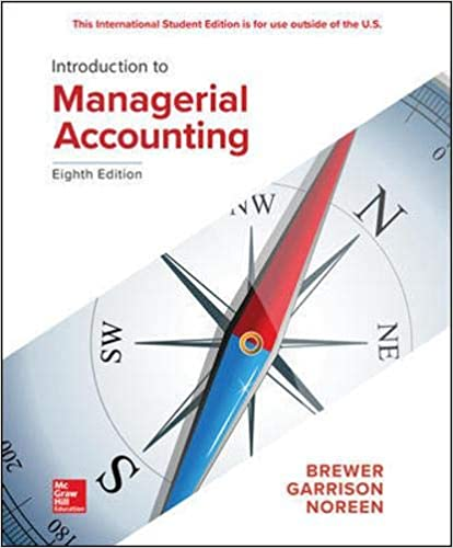 Introduction to Managerial Accounting (8th Edition) - Original PDF