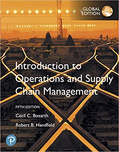 Introduction to Operations and Supply Chain Management, Global Edition (5th Edition) - Original PDF
