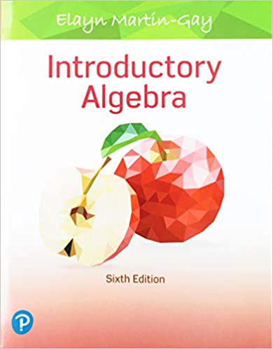 Introductory Algebra (6th Edition) [2019] - Original PDF