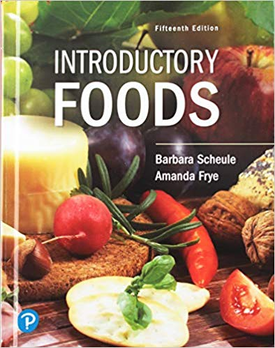 Introductory Foods (15th Edition)