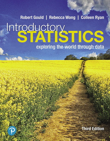 Introductory Statistics: Exploring the World Through Data (3rd edition) - Orginal pdf
