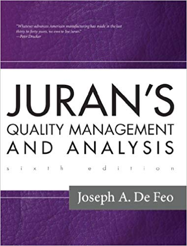 Juran's Quality Management and Analysis System (6th Edition)