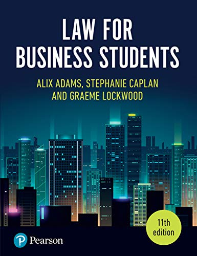 Law for Business Students (11th Edition) - Orginal pdf