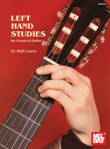 Left Hand Studies for Classical Guitar - Epub + Converted pdf
