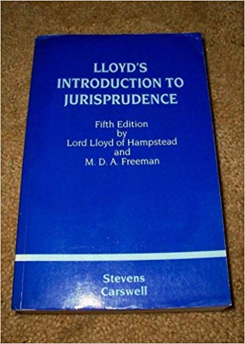 Lloyd's Introduction to Jurisprudence (5th Edition) - Scanned Pdf with ocr