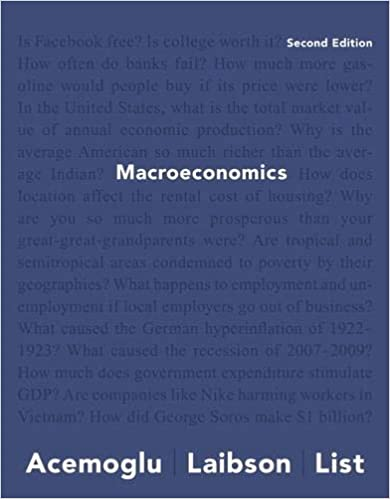 Macroeconomics (2nd Edition) BY Daron Acemoglu - Original PDF
